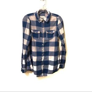 Abercrombie & Fitch Buffalo Plaid Button Down